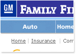 General Motors Family First Website